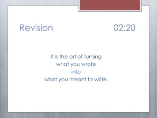 Revision				02:20