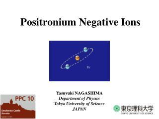 Positronium Negative Ions