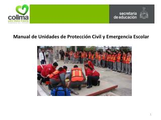 Manual de Unidades de Protección Civil y Emergencia Escolar