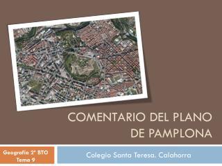 COMENTARIO DEL PLANO DE PAMPLONA