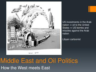 Middle East and Oil Politics