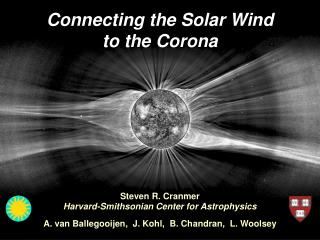 Connecting the Solar Wind to the Corona