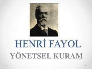 HENRİ FAYOL