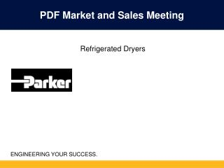 Airtek Refrigerated Dryers - Powerpoint Presentation