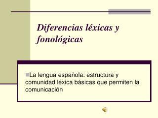 Diferencias l