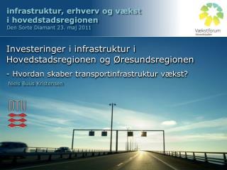 infrastruktur, erhverv og vækst  i hovedstadsregionen Den Sorte Diamant 23. maj 2011