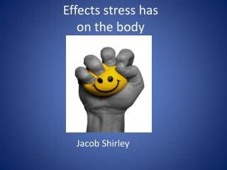 Effects stress has on the body