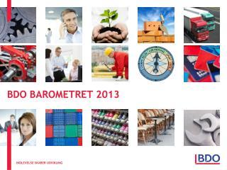 BDO BAROMETRET 2013