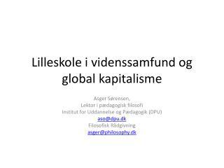 Lilleskole i videnssamfund og global kapitalisme