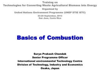 Basics of Combustion