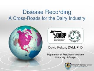Disease Recording A Cross-Roads for the Dairy Industry