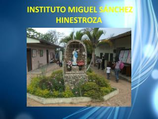 INSTITUTO MIGUEL S�NCHEZ HINESTROZA