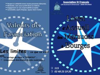 Association St François 12b  boulevard Clémenceau 18000  BOURGES
