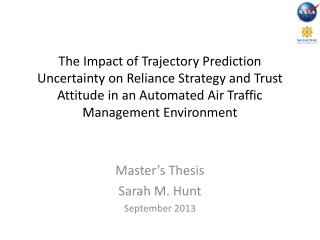Master's Thesis Sarah M. Hunt  September 2013