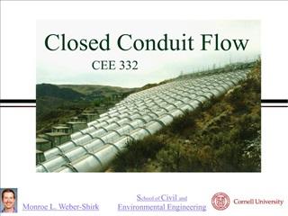 Closed Conduit Flow