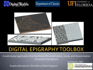 DIGITAL EPIGRAPHY TOOLBOX