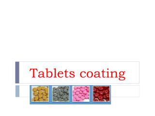 Tablets coating