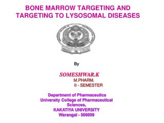 BONE MARROW TARGETING AND TARGETING TO LYSOSOMAL DISEASES