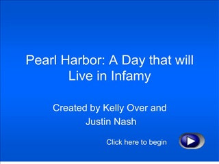 Pearl Harbor: A Day that will Live in Infamy