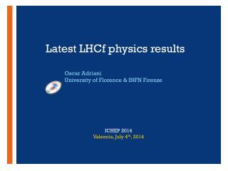 Latest LHCf  physics  results