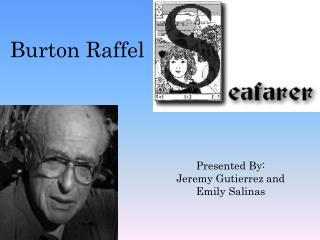 Burton  Raffel