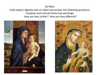 Objective: The Renaissance