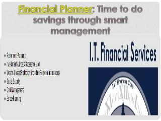 Financial Planner: Time to do savings through smart manageme