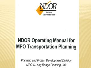 MPO Operating Manual