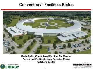 Conventional Facilities Status
