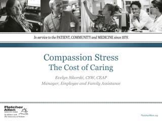 Compassion Stress The Cost of Caring