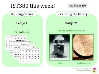IST 380 this week!