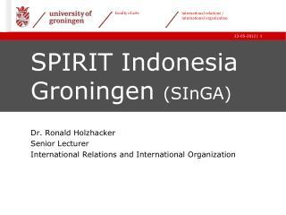 SPIRIT Indonesia Groningen  ( SInGA )