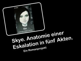 Skye . Anatomie einer Eskalation in f�nf Akten.