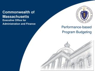 Performance-based  Program Budgeting
