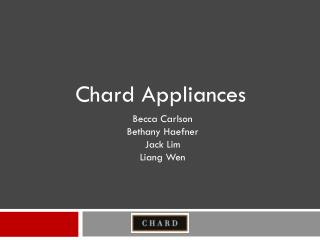 Chard Appliances