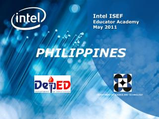 Intel  ISEF  Educator Academy May 2011
