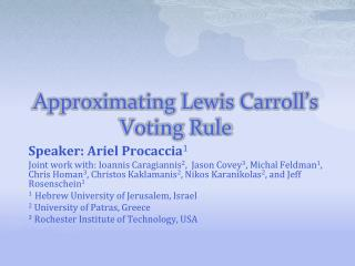 Approximating Lewis Carroll's Voting Rule
