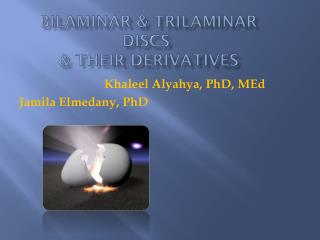 Bilaminar & trilaminar Discs  & Their Derivatives