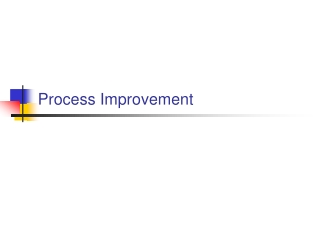 Process Improvement