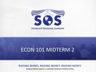 ECON 101 MIDTERM 2