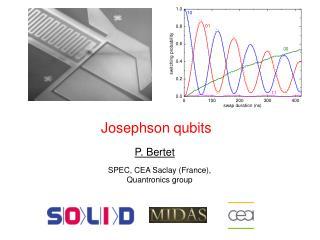 Josephson  qubits