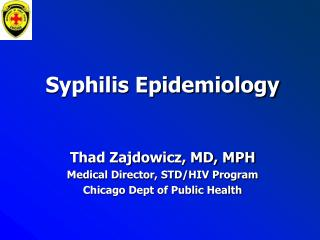 Syphilis Epidemiology