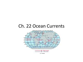 Ch. 22 Ocean Currents