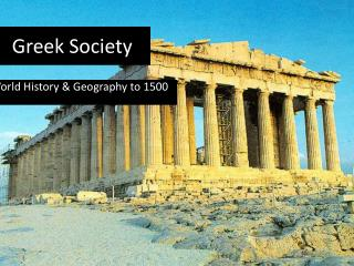 Greek Society