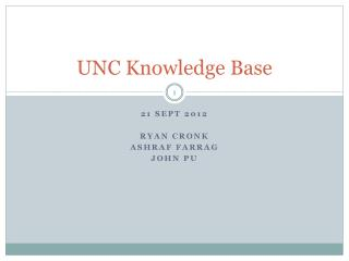 UNC Knowledge Base