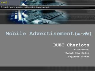 Mobile Advertisement( m-Ad )