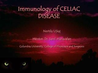 Immunology of CELIAC DISEASE
