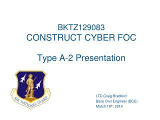 BKTZ129083 CONSTRUCT CYBER FOC Type A-2 Presentation