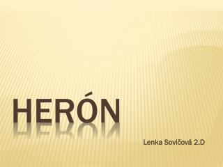 Herón