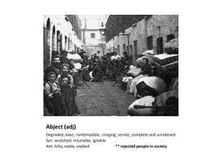 Abject ( adj )